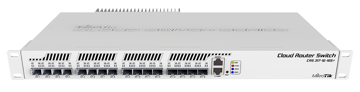 Mikrotik Cloud Router Switch Crs317 1g 16s Rm Is An 16