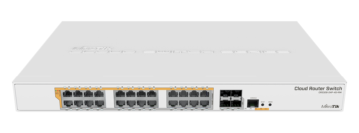 Mikrotik Cloud Router Switch Crs328 24p 4s Rm Poe Out