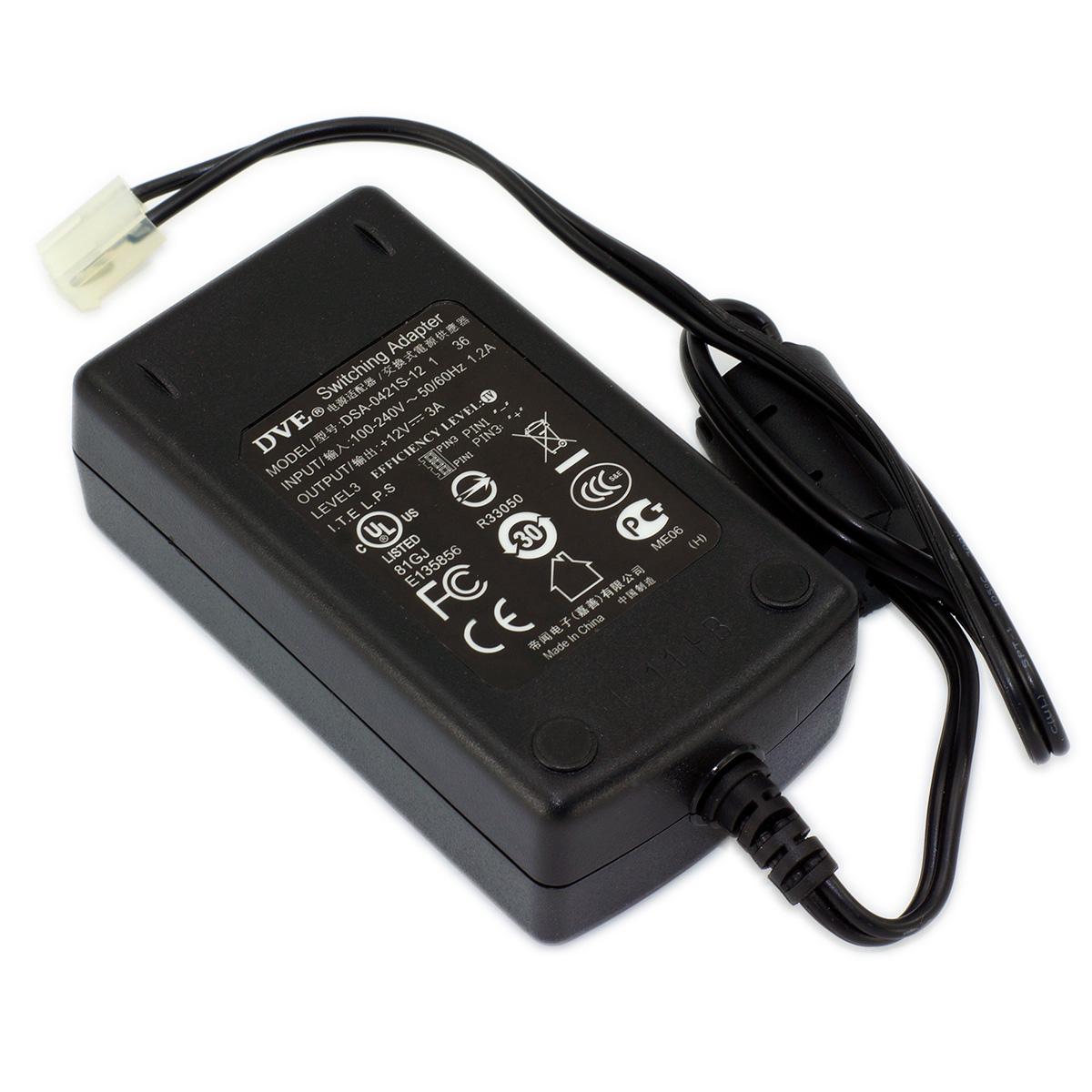 Dve 12vdc 36 Watt 3 Amp Desktop Style Switching Power Supply With Rb1100ahx2 Dsa 0421s 12 1 Bottom