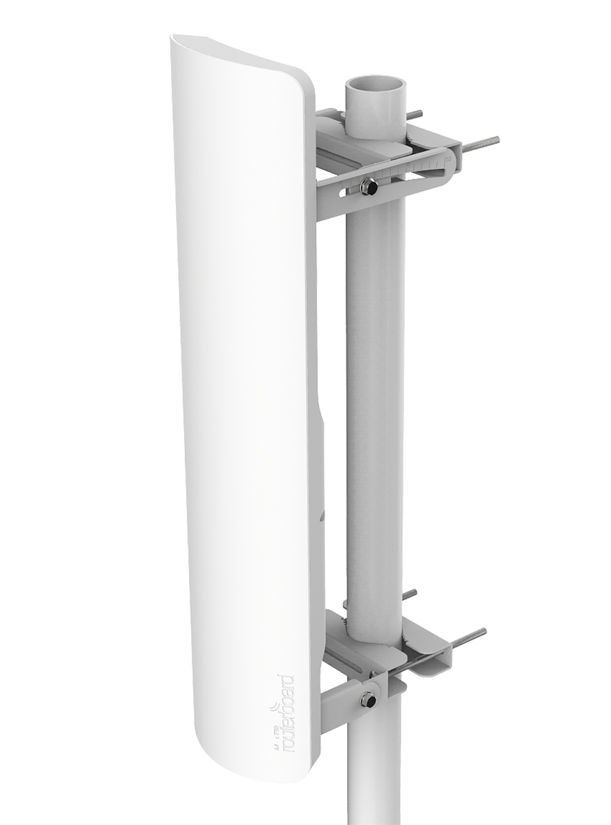Mikrotik mANTBox 19s RB921GS-5HPacD-19S 5GHz 19 dBi 120 degree Dual Polarity Sector antenna with integrated Radio