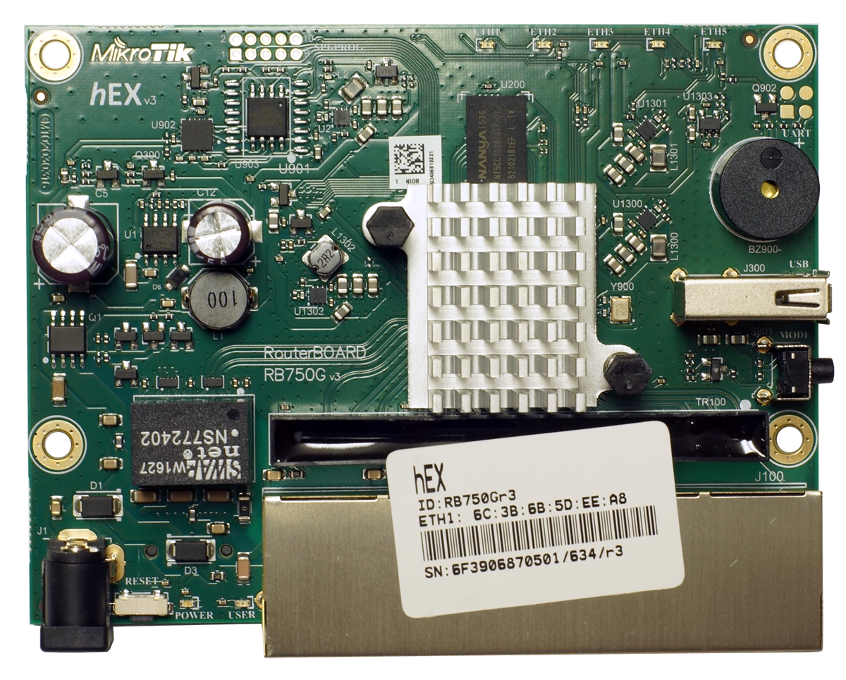 Mikrotik RouterBoard HEX RB 750Gr3 RB750Gr3 Was RB750G 5