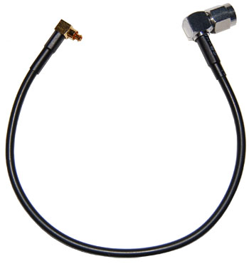 5210004-002  MC to Right Angle SMA 8 inch pigtail cable