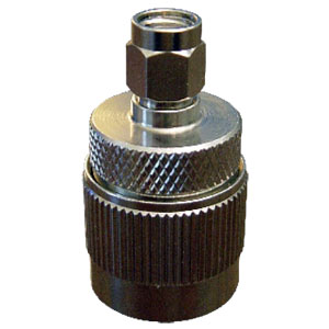RPSMA Male to N Male Adapter. Gold Plated Contacts