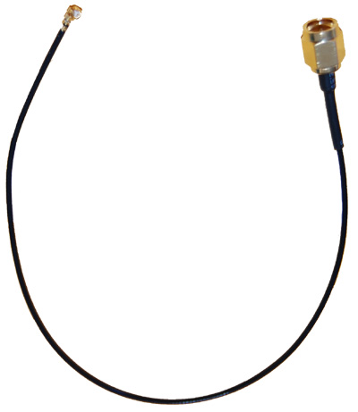 ARC-CJ1055S01  Right Angle U.fl to Straight SMA 9.5 inch (240mm) pigtail cable