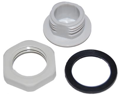 ARC-IX9010B01 N Hole Plastic Plug with Gasket and Nut - ARC Wireless ...