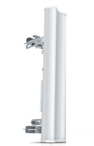 AM-2G15-120 Ubiquiti 2.4GHz 15dBi 120 degree MIMO AirMax BaseStation Sector Antenna and bracket system