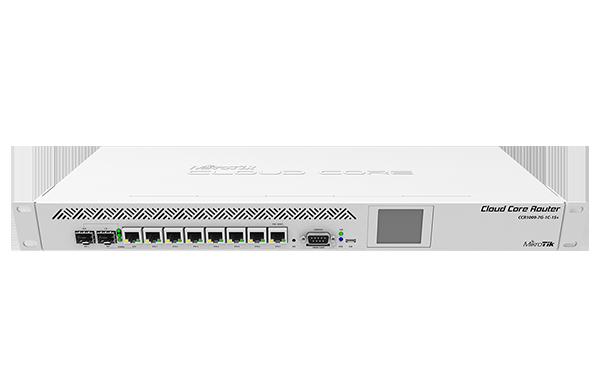 Mikrotik RouterBoard CCR1009-7G-1C-1S+ High Performance Cloud Core