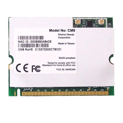 Wistron NeWeb CM9 802.11a/b/g-based WiFi radio module