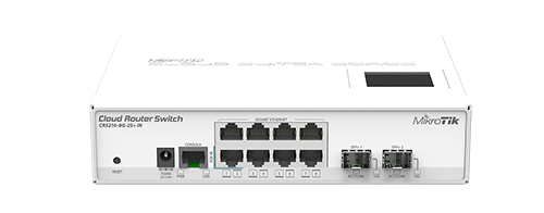 Mikrotik Cloud Router Switch Crs210 8g 2s In Complete 2