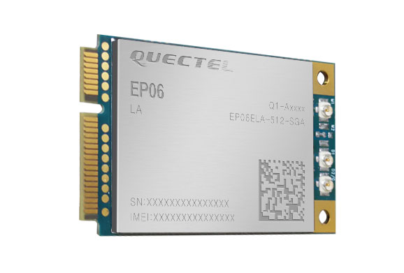 Quectel EP06-A Cat6 Mini PCIe 3G/4G/LTE miniPCI-e card (certified in US and Canada) - New!