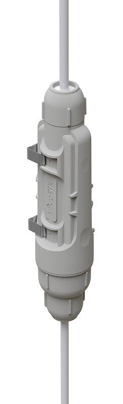 Mikrotik GPeR-IP67-Case is a rugged low-cost waterproof enclosure for the Gigabit Passive Ethernet Repeater - New!