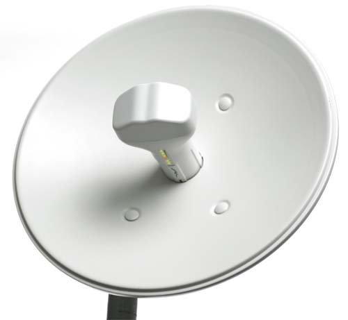 NB-5G25 NBM5 5GHz with 25dBi dish NanoBridgeM the World's first hi-performance and cost-effective MIMO bridging devices