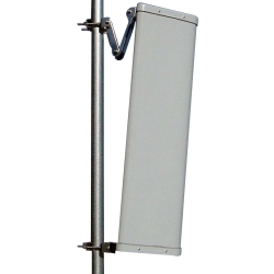 2.4GHz 12dBi Standalone 180 Degree V Pol Sector Antenna with N-female jack - Laird model SA24-180-12