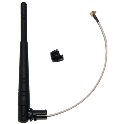 AC/SWI-MMCX ACSWIM 2.4-5.8 GHz 2.5dBi/5.5dBi Omnidirectional Swivel Antenna with cable and MMCX connector (for indoor use)