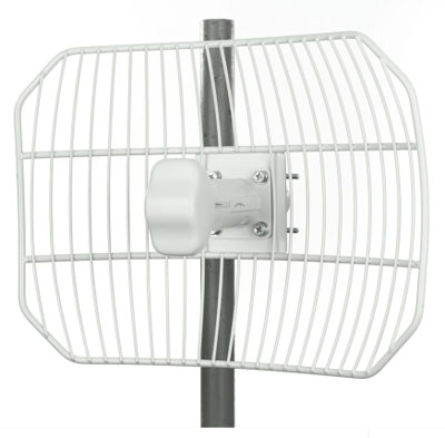 AG-2G20 Ubiquiti 20dBi AirGrid M2: Revolutionary 2.4GHz CPE Technology with 24vdc POE