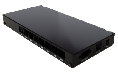 CA/192 Mikrotik RouterBoard Universal RB192 Indoor case (2 holes for Nfemale Bulkhead connectors or AC/SWI Swivel antennas)