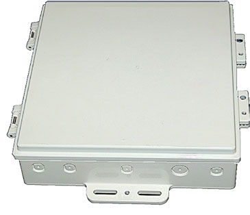 DCE10-H-001 HD RooTenna® DCE-10x10x2 hinged die-cast enclosure only