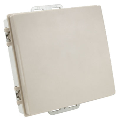 DCE10i-4919 HD RooTenna� DCE-10x10x2 enclosure with integrated 4940-5850Mhz 19dBi antenna