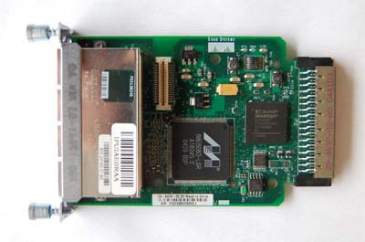 Cisco  hwic-4esw  4 port 10/100 ethernet switch card