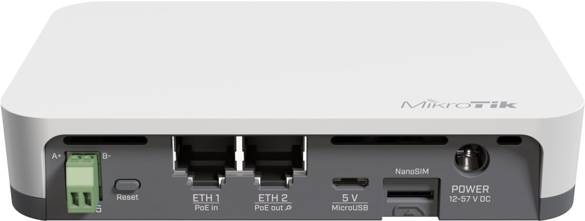 MikroTik's KNOT IoT Gateway offers a wide range of connectivity options and protocol support. - New!