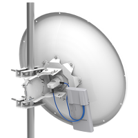 Mikrotik mANT30 MTAD-5G-30D3-PA 5GHz 30 dBi Dual Polarity Parabolic Dish antenna with precision alignment mount - New!