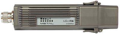 Mikrotik RouterBOARD Metal 52 ac RBMetalG-52SHPacn-US (US and Canada version) 1.3 Watt Dual Band 2.4GHz/5GHz AP, 64MB RAM, 1 LAN, 1.6W 2.4GHz 802.11b/g/n or 5GHz 802.11ac, ROS L4, Omni antenna, and Power Supply - New!