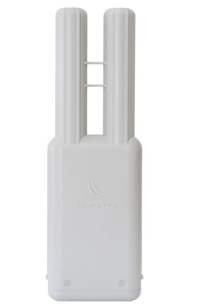 Mikrotik's OmniTIK U-5HnD is a weatherproof outdoor AP with dual-polarized omni antennas, a 5GHz 400mw 2x2 MIMO radio, and 5 10/100 ethernet ports - Ltd time special!
