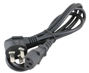 6 foot (1.8M) AC power cord AU IEC60320 C13 to AS/NZS 3112 ( Type I)