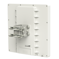 Mikrotik RBQRTG-5SHPnD-US (US and Canada) is a high gain, high speed 5GHz oudoor wireless device. Dual polarization 802.11n and Nv2 TDMA technology help to achieve even 200Mbit real throughput speed - New!