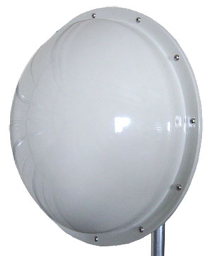 Laird /Pacific Wireless Radome cover for their 3 foot (0.9M) dish antenna