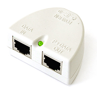 RB/P54 Mikrotik Passive POE Injector with LED for use with RB/133, RB/133C, RB/150, RB/192, RB/230, RB/333, RB/532, RB/532a, RB/600