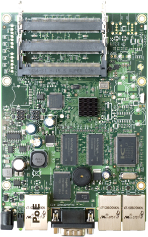 RB/433 RB433 Mikrotik RouterBOARD 433 with Atheros AR7130 300MHz Network CPU, 64MB DDR RAM RouterOS L4 - New