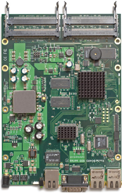 RB/600 RB600A Mikrotik RouterBOARD 600 with MPC8343E 266/400MHz CPU, 128MB DDR RAM - New