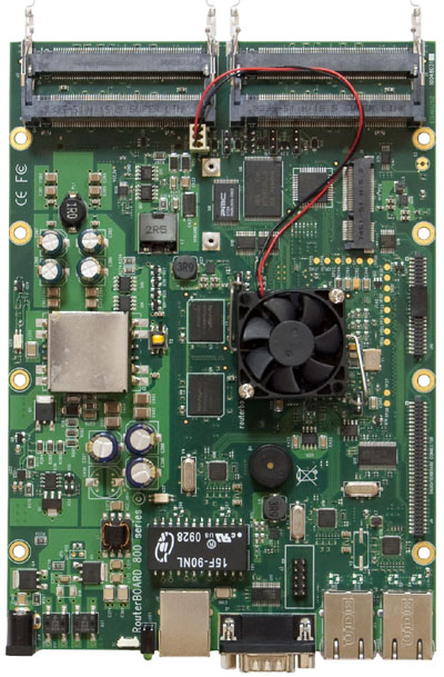 RB/800 RB800 Mikrotik RouterBOARD 800 with MPC8544 800MHz CPU, 256MB DDR RAM, 512MB NAND flash, L6 license - New!