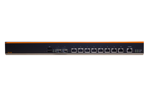 Roc-Box-D525-SFP is a high performance 10 port 1U router with 1.8GHz Intel Atom Dual-Core CPU, 2.0GB RAM, 2 SFP fiber ports, 8 Gig ethernet ports, and Mikrotik RouterOS