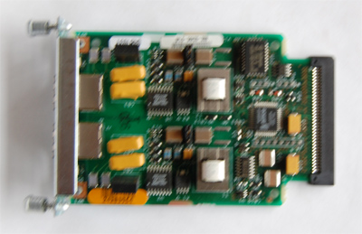 Cisco  vic-2fxo 2 port FXO Voice Interface Card