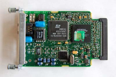 Cisco  wic-1adsl  1 port ADSL over POTS interface card
