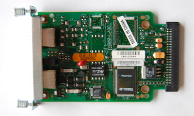 Cisco  wic-1am  1 port analog modem interface card