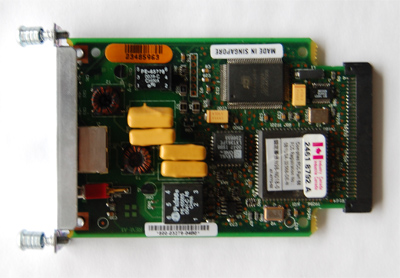 Cisco  wic-1dsu-t1  1 port T1 csu/dsu interface card