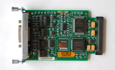 Cisco  wic-1t  1 port serial WAN interface card