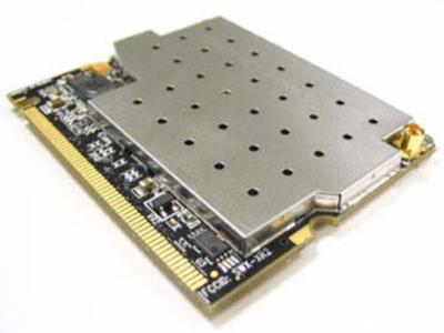 Ubiquiti XR2 XtremeRange2 2.4 GHz 600mW avg Tx power carrier class 802.11b/g-based 2.4GHz WiFi radio module