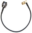 5210004-004  RPTNC to Right Angle SMA 8 inch pigtail cable
