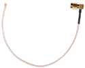 5210004-006  U.Fl to Right Angle SMA 8 inch pigtail cable