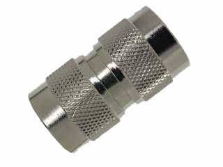 N Male to N Male Adapter, Gold Plated Contacts