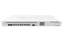 Mikrotik RouterBoard CCR1009-7G-1C-1S+ High Performance Cloud Core Router with 8-10/100/1000 ethernet ports, 1 SFP port, 1 SFP+ port, dual power supplies and RouterOS Level 6 license - New!