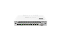 Mikrotik RouterBoard CCR1009-7G-1C-1S+PC High Performance Cloud Core Router with 8-10/100/1000 ethernet ports, 1 SFP port, 1 SFP+ port, external power supply and RouterOS Level 6 license - New!