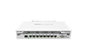 Mikrotik RouterBoard CCR1009-7G-1C-PC High Performance Cloud Core Router with 7-10/100/1000 ethernet ports, 1 combo ethernet / SFP port and RouterOS Level 6 license - New!