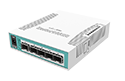 Mikrotik Cloud Router Switch CRS106-1C-5S complete 5 SFP ports plus 1 combination port 10/100/1000 layer 3 switch and router assembled with case and power supply - Coming Soon!