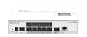 Mikrotik Cloud Router Switch CRS212-1G-10S-1S+IN complete 10 SFP cages, 1 SFP+ cage, 1 Gigabit LAN, layer 3 switch and router assembled with case and power supply - New!