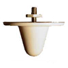 IN800/5900-5 PacWireless 2.4GHz 5dBi / 5GHz 3.5dBi Multiband Omnidirectional ceiling mount antenna with N-female connector